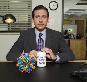 מנהל יושב במשרד